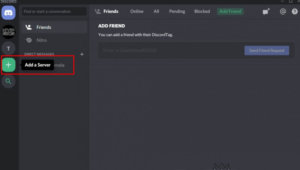 How to create a server in Discord